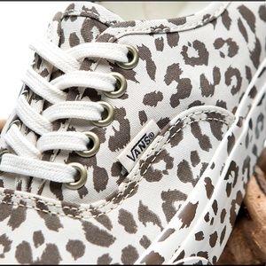 107931229b Vans Shoes - Vans Mono Leopard Print Sneakers UNISEX